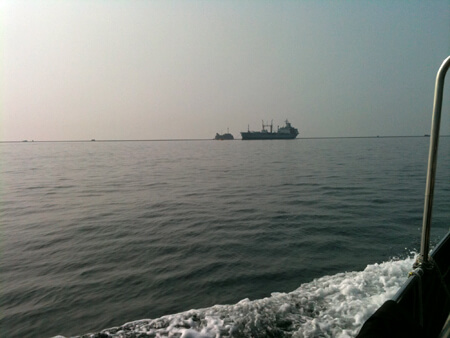 More flat seas...