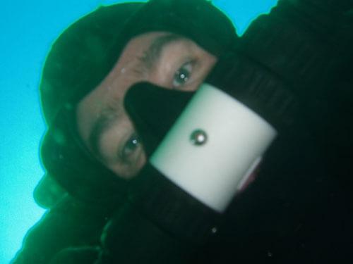 Paul Brown self portrait. Hideous.